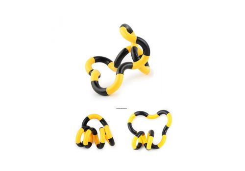 Fidget Anti Stress Toy Twist Adult Decompression Toy Child Deformation Rope Perfect for Stress Kids to Play Colorful Toys